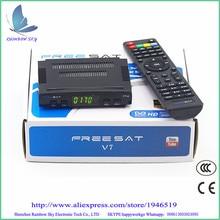 Digital tv satellite decoder Freesat V7 DVB-S2 HD satellite TV receiver  Youtube Power VU CCcam Newcamd