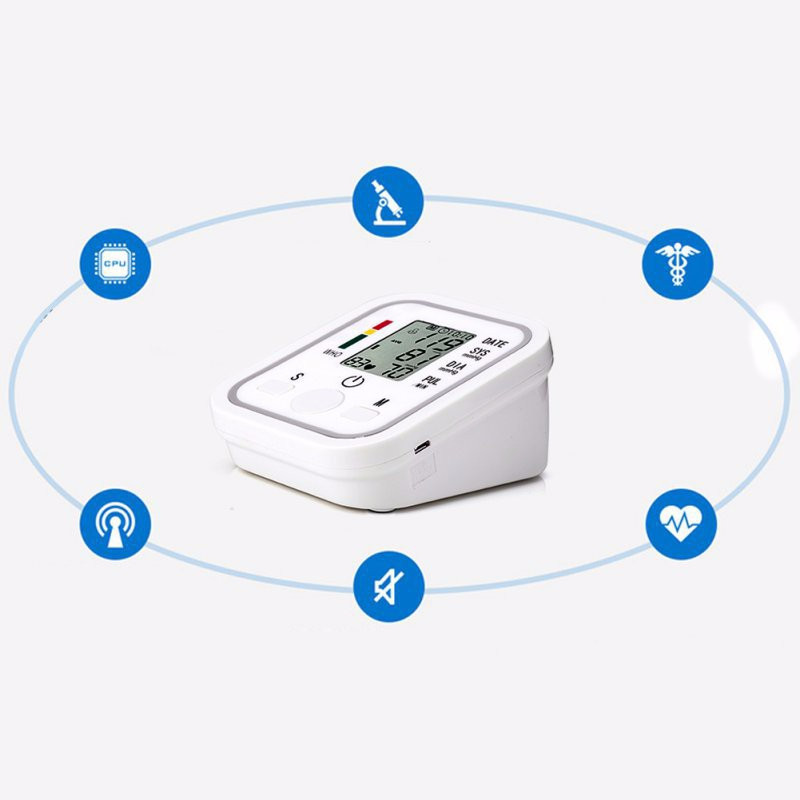Upper arm blood pressure monitor blood pressure machine measuring blood pressure cuff blood pressure monitor arm blood pressure (5)