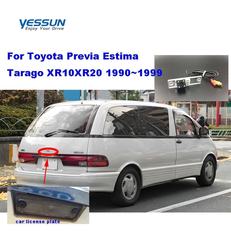 Yessun HD CCD Night Vision Car Rear View Reverse Backup Camera For Toyota Previa Estima Tarago XR10XR20 1990~1999 Toyota Estima
