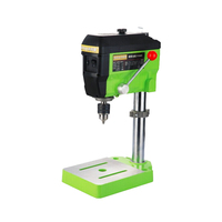 drilling machine Mini Electric Milling Machine Variable Speed Drill Press Grinder BG 5168E vise Multifunctional WorkingTable