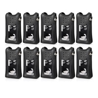 10pcs Leather Protective Case Specialized For Ailunce HD1 Dual Band DMR Digital Walkie Talkie Ham Radio