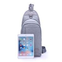 Unisex nylon PU Cross Body Bag houndstooch réplica bolsa relieve pecho de hielo vendedor bolsa de hombro del teléfono celular