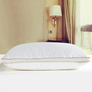 Image 3 - IHAD Bedding Down Pillow Home Textile Sleeping Pillows Goose feather Filling Cotton Fabric Soft Warm Healthy Care Neck  74X48CM