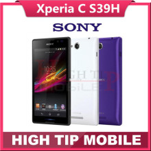 Original Unlocked Sony Xperia C S39H  Mobile Phone Quad-Core 4GB Memory Android Smartphone 8MP Camera Dual SIM Refurbished