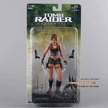 """Frete grátis neca tomb raider submundo lara croft pvc figura de ação 7 """"18cm novo na caixa mvfg118"""