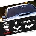Batman Dark Knight Masked Hero Car Styling Film Character Reflective Sticker Windshield Body Cool Exterior Decoration Decals