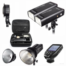 Godox AD200 400W Strobe Flash Speedlite for Canon Sony Nikon Fujifilm Camera + AD-B2 + XPRO Wireless Trigger + Bowens Reflector godox ad s13 ad s16 portable light boom stick floor stand flash tripod kit for godox ad200 ad180 ad360 ad360ii etc speedlite
