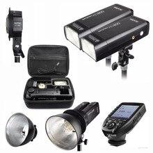 Godox AD200 400 Вт стробоскопическая вспышка для Canon sony Nikon Fujifilm Камера + AD-B2 + XPRO Беспроводной триггер отражатель + Bowens