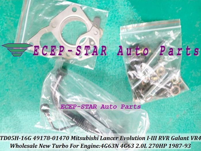 TD05H-16G 49178-01470 Turbo Turbocharger For Mitsubishi Lancer Evolution I-III RVR Galant VR4 1987-93 4G63N 2.0L 270HP -