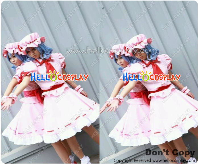 The Embodiment Of Scarlet Devil Cosplay Remilia Scarlet Costume H008