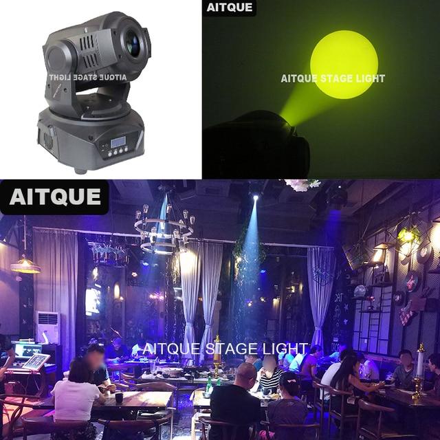 4pcs Mini lyre spot dmx led spot 90 watt led moving head 90w moving head projecteur led gobo mobile head