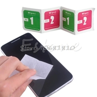 400xCamera Lens Phone LCD Screen Dust Removal Dry Wet Cleaning Wipes Paper Set