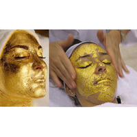 24K GOLD Mask Active Face Mask Powder Brightening Luxury Spa Anti Aging Wrinkle Treatment Beauty Care