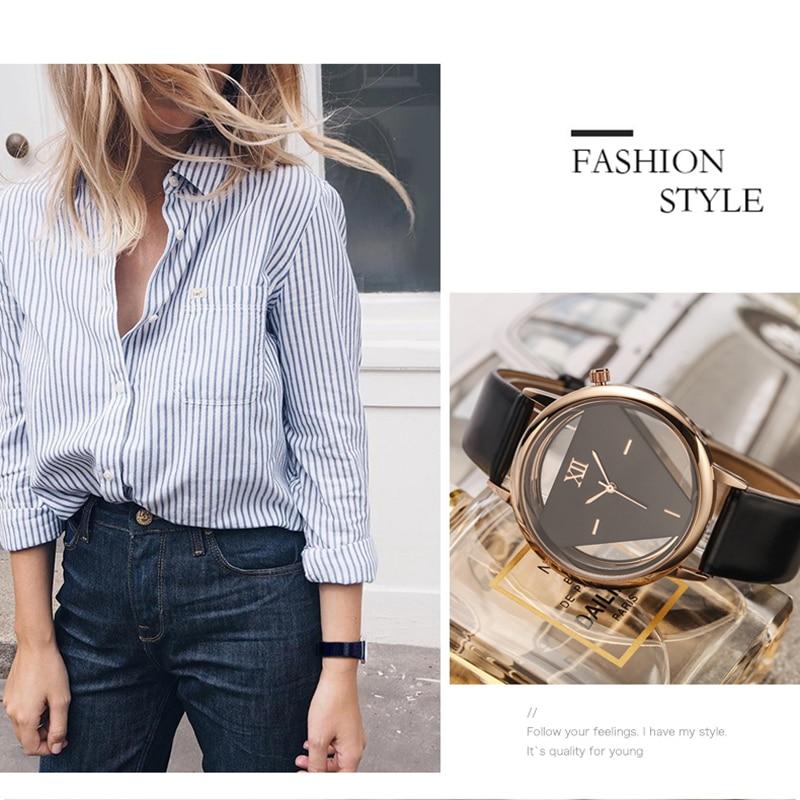 GEEKTHINK šuplje stil luksuzni brand kvarcni satovi žene dame - Ženske satove - Foto 4