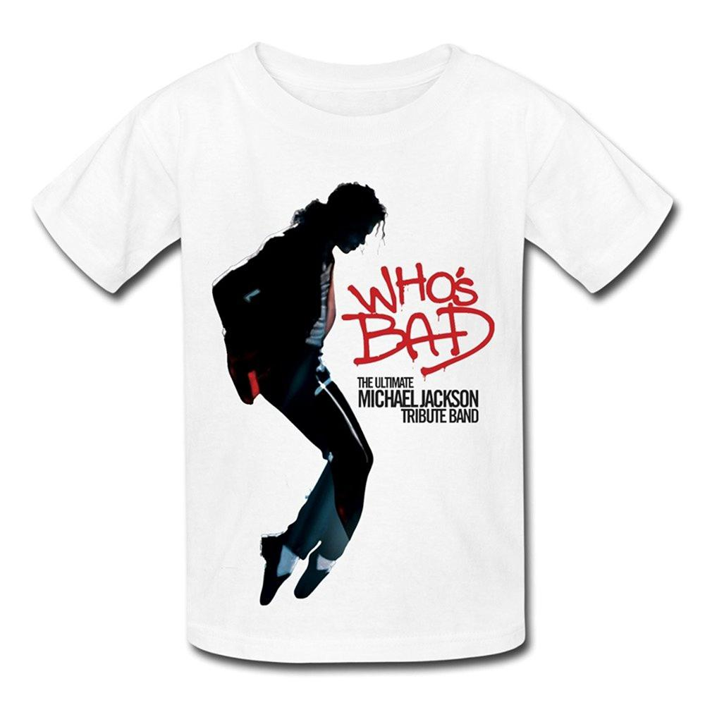 brand style sleeve men 39 s o neck qm ultimate michael jackson tribute band who 39 s bad t shirt for. Black Bedroom Furniture Sets. Home Design Ideas