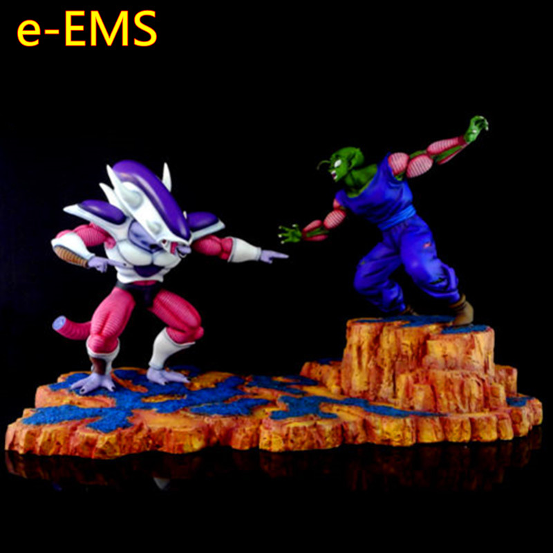 Anime Dragon Ball Z Scene di Battaglia Universo Boss Freezer VS Piccolo GK Statua In Resina Action Figure Modello Giocattolo G2557Anime Dragon Ball Z Scene di Battaglia Universo Boss Freezer VS Piccolo GK Statua In Resina Action Figure Modello Giocattolo G2557