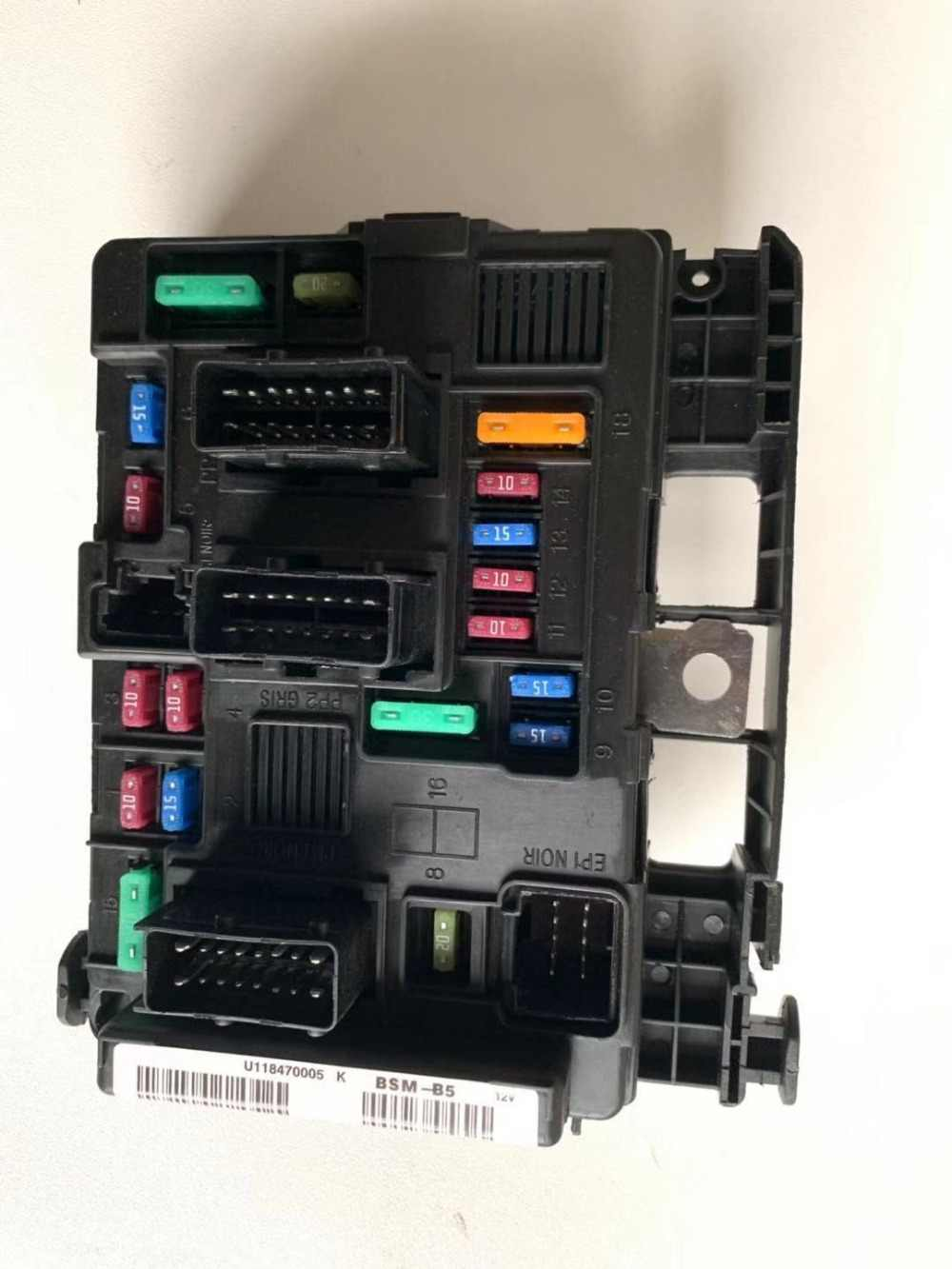 small resolution of high quality fuse box 6500 y3 9650618280 for peugeot 1007 206 307 partner under bonnet