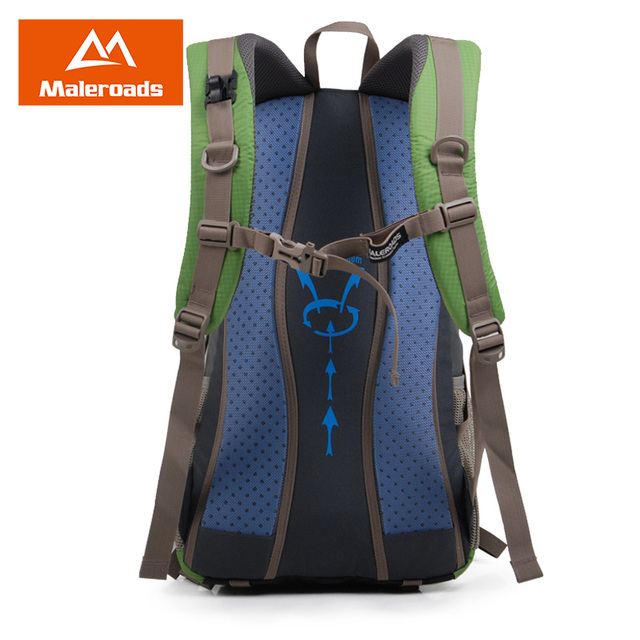 Maleroads Rucksack Hiking Backpack Travel Backpack Outdoor Sport Bag Waterproof Backpack Camp Pack Trekk Rucksack Men Women 40L 4
