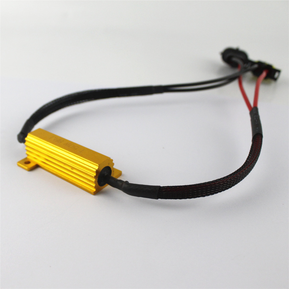 2x H11 H8 Led Light Fog Hid No Error Load Resistor Wiring Harness Adapter 50w 8rj Decoder For Bulbs Code In Car Accessories From Automobiles