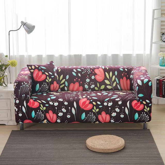 Home Use Printing Color All Inclusive Sofa Towel Slipcover Stretch Fabric Elastic Cover