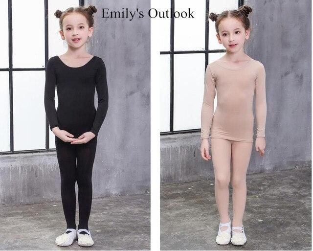 90 145cm Girls Nude Dance Underwear&Ballet Pantyhose