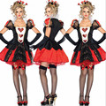 НОВЫЙ высокое качество Сексуальная Королева червей костюм Хэллоуин ведьма Взрослый Костюм косплей Алиса ночной клуб клубные Партии Женщин костюмы