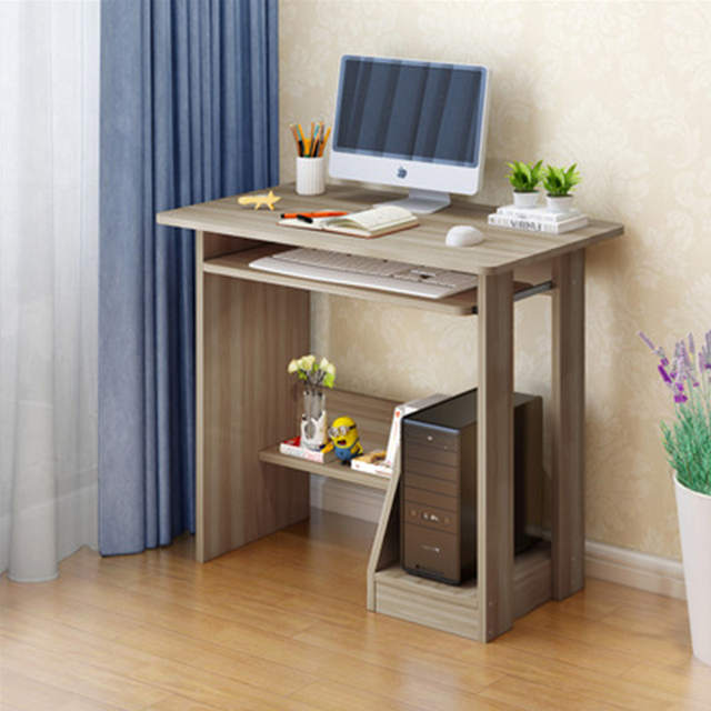 Desktop Computer Desk Home Study Table Keyboard Main Chassis Bit Desk Small  Laptop Desks