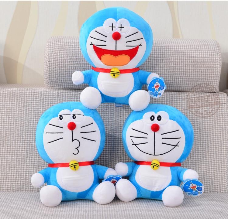 Gift for baby 1pc 40cm romantic cartoon Doraemon funny anime plush doll cute novelty creative girl stuffed toy sitting height 65cm anime cartoon cute doraemon plush toys japanese anime doraemon cat plush toys children s gift