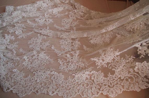 luxury bead lace fabric bridal cord lace fabric super gorgeous lace fabric 1yard
