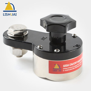 Image 5 - LISHUAI On/Off Magnetic Welding Ground Clamp Rare Earth Switchable Magnet Welding Holder 200A/300A/600A