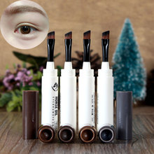 3g Eyebrow Dye Gel  Makeup Eyebrow Pencil Pen Fine Eyebrow Enhancer Waterproof Cosmetic Natural Cream 4 Colors