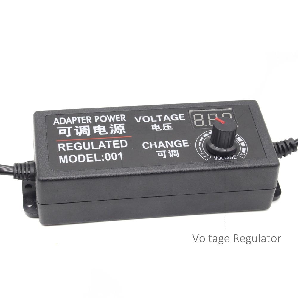 Regulated power adapter