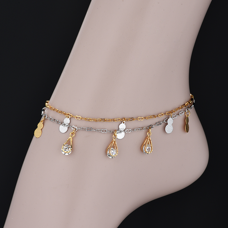 Gold Anklet Indian, Toe Ring Anklet