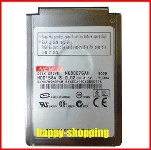 "NUEVO 1.8 ""CF / PATA MK8007GAH 80GB 4200RPM Unidad de disco duro reemplazar MK6006GAH MK4006GAH MK4004GAH para laptop IPOD, envío gratis"