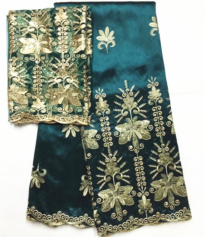 george lace fabric african george fabric with french lace blouse nigerian lace fabric 2018 high quality