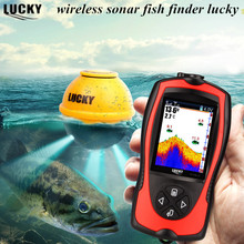Deeper Wireless Sonar Fish Finder Lucky FF1108-1 CWLA FindFish Echo Sounders Lure Fishfinder Bite Alarms Deeper FindFish Pesca atoll 303