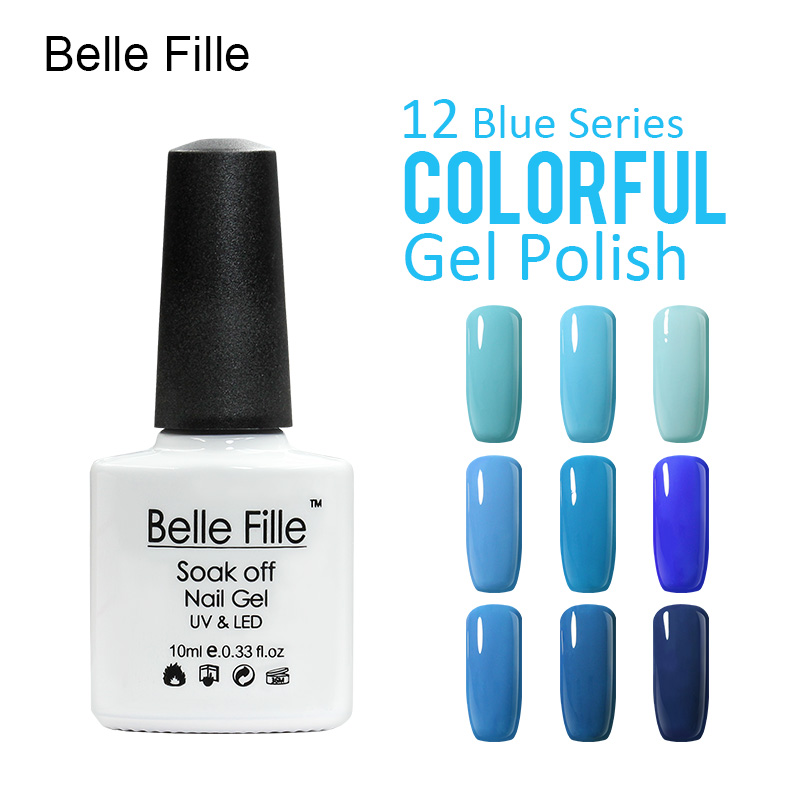 buy belle fille nail polish gel led light uv manicure for gel nail uv gel nail. Black Bedroom Furniture Sets. Home Design Ideas