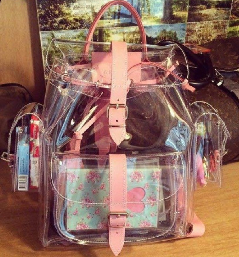 Popular Clear Book Bag-Buy Cheap Clear Book Bag lots from China ...