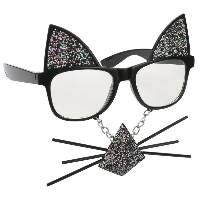 f518123a7f0ab Detail Feedback Questions about Funny Cat Costume Mask Novelty Glasses  Halloween Party Photobooth Props Favors Accessories Party Supplies  Decoration Gifts ...