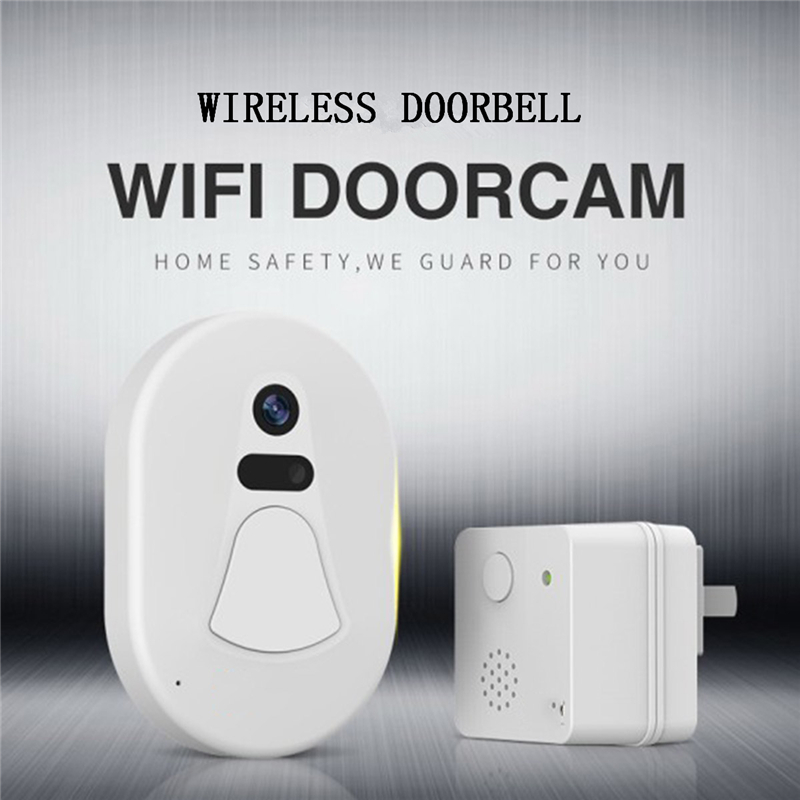 New HD Wifi Doorbell Camera Wireless IP Door Camera Free Cloud Storage Photo Night Vision Security Video Doorbell Wifi Door BellNew HD Wifi Doorbell Camera Wireless IP Door Camera Free Cloud Storage Photo Night Vision Security Video Doorbell Wifi Door Bell