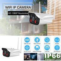 Aluminum Metal Waterproof Outdoor Bullet WiFi IP Camera 1080P Security Camera Double 2.4G Antenna ONVIF ARRAY IR Camera IP