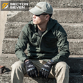 waterproof coats jacket puls size autumn trench outerwear male costumes medium-long