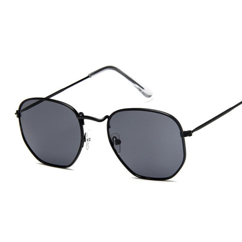 Vintage Square Sunglasses Women Shades Retro Classic Black Sun Glasses Female Male Luxury Brand Designer Oculos De Sol