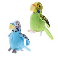2xWaving Wings Talking Parrot Repeat Talk Imitates You Say Toy Speaking Gift