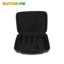 Portable Handheld Storage Bag Waterproof PU Carrying Case Accessory Shoulder Bag PU EVA Suitcase for DJI Mavic Air