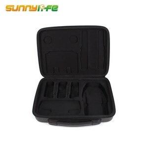 Image 1 - Portable Handheld Storage Bag Waterproof PU Carrying Case Accessory Shoulder Bag PU EVA Suitcase for DJI Mavic Air