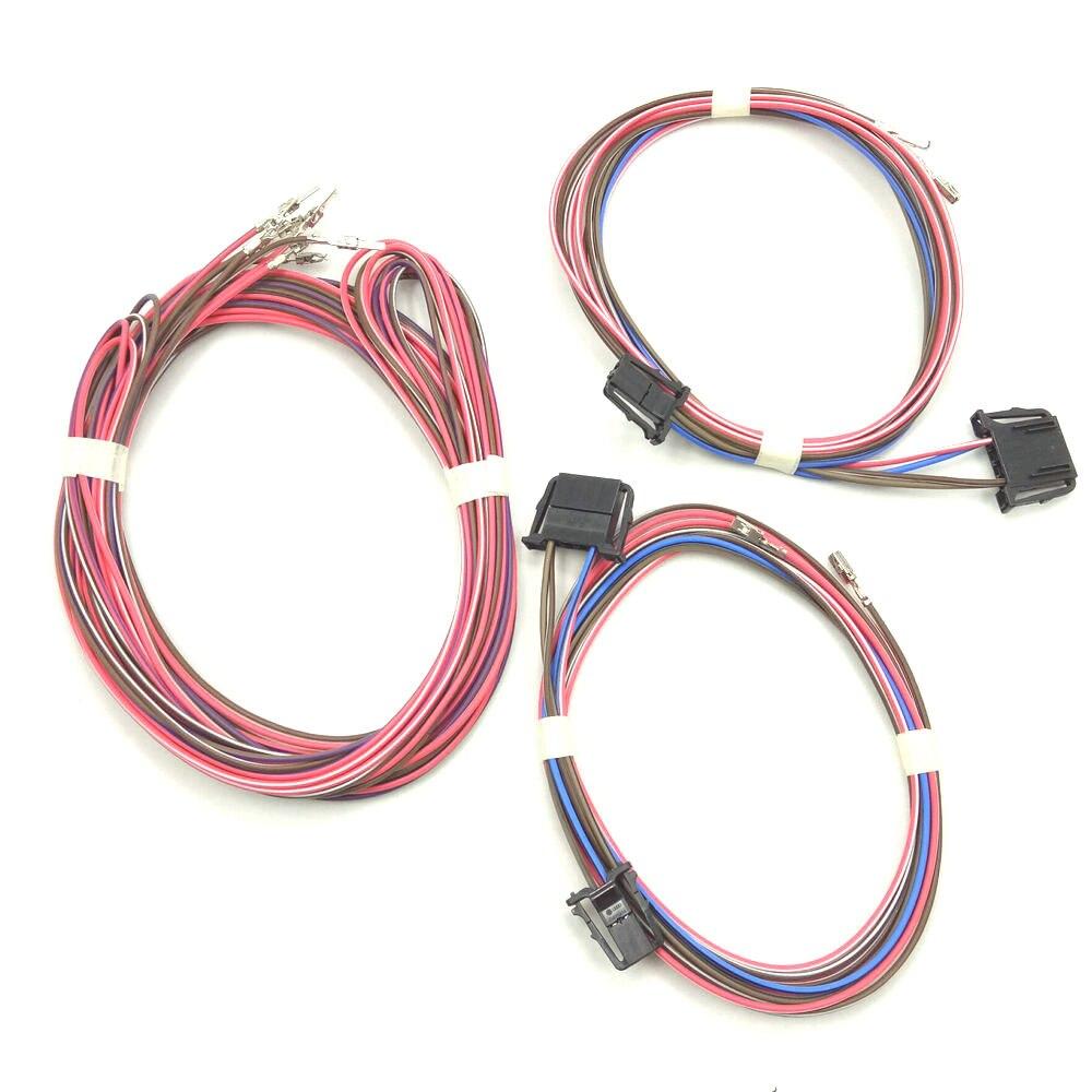 For the  VW Golf 7 MK7 Touran Tiguan Jetta Golf 6 MK6 door speaker cable harness Rear door horn harness