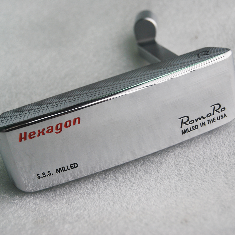 New Right Handed Golf Heads Romaro S.S.S Hexagon CB TOUR EDITION Golf Putter Heads Romaro Golf Clubs Heads No No Shaft