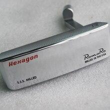 Nouveau droitier Golf têtes Romaro S.S.S hexagone CB TOUR édition Golf putter têtes Romaro Golf clubs têtes non pas arbre