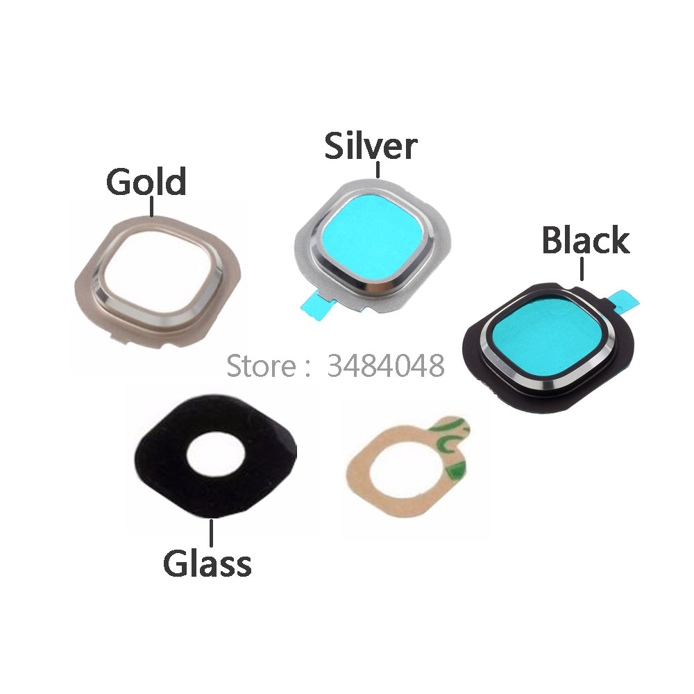 OEM Rear Camera Glass Lens Ring Cover OEM Part For Samsung Galaxy J7 (2016) J710 / J5 (2016) J510